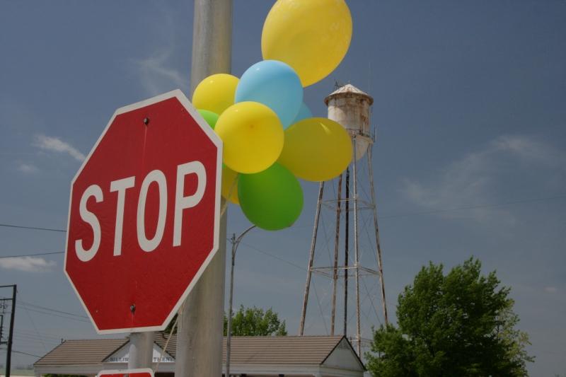 celebrating stop