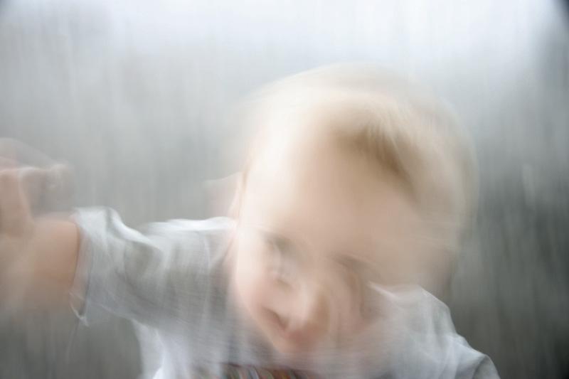 blurry baby